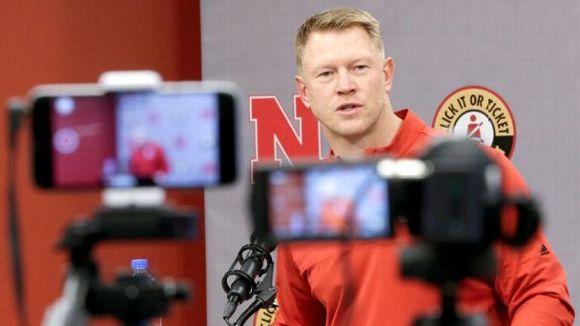Nebraska coach Scott Frost