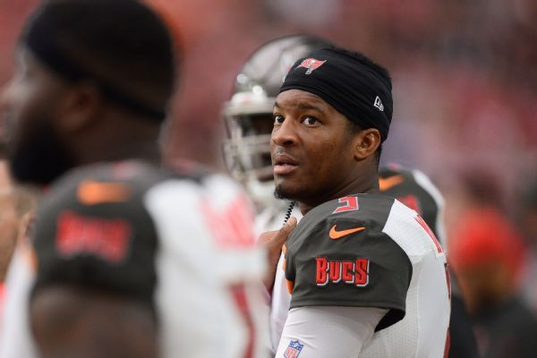 Sources: Buccaneers' Jameis Winston faces suspension for first three games