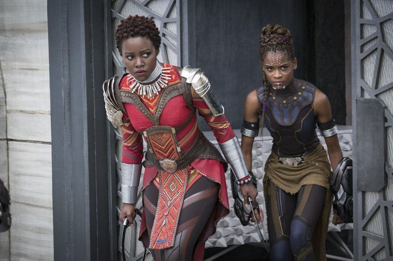 Image result for letitia wright black panther