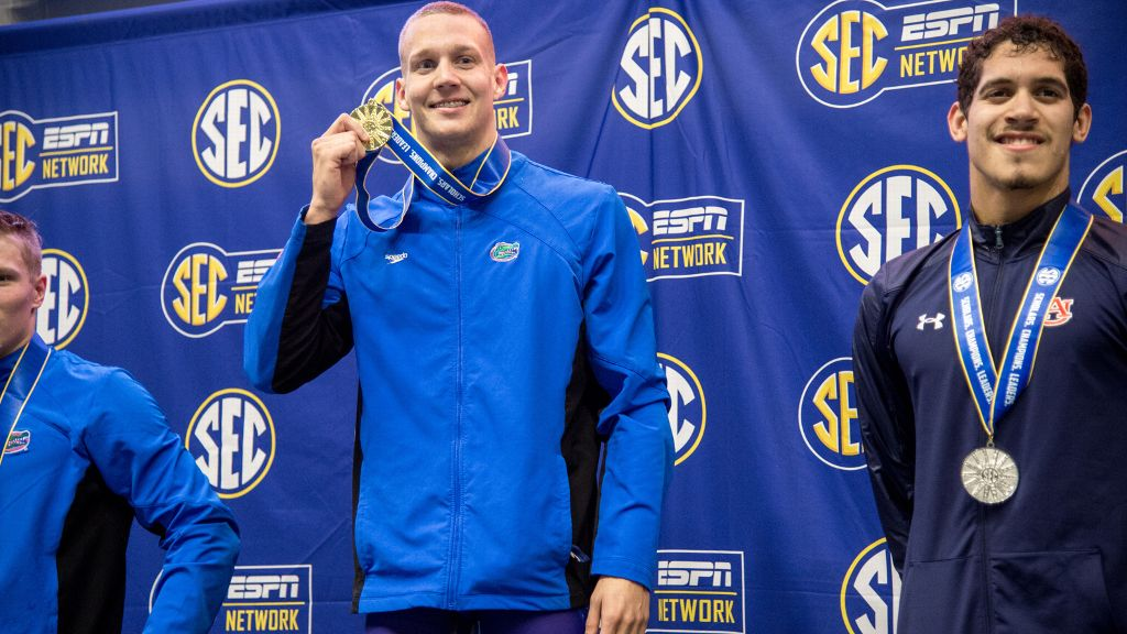 SEC has record night on Day 2 of championships