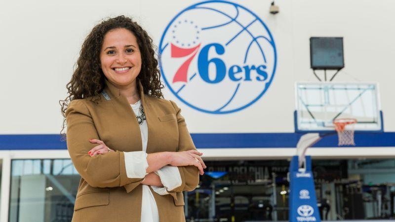 69af4450965a92 Katie O'Reilly's cool job -- Philadelphia 76ers CMO