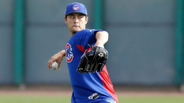 'He throws a Frisbee up there:' What's it like facing Yu Darvish? His new teammates tell all