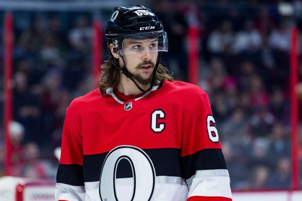 Defenseman Erik Karlsson traded from Senators to Sharks