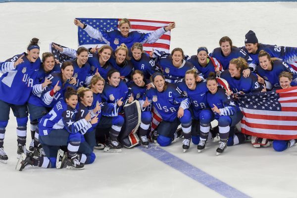 NHL quietly helped USA Hockey pay women's national team players