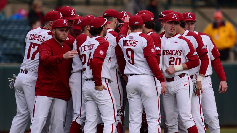 No. 6 Arkansas falls to Cal Poly 4-3
