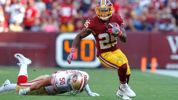 Redskins seek their version of Kareem Hunt to pair with Alex Smith