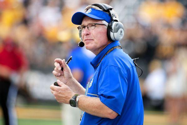 South Dakota State football coach pleads no contest to DUI