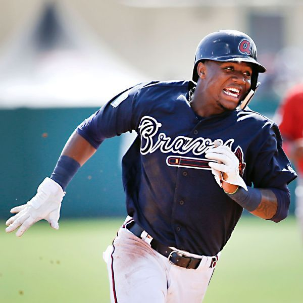 Braves rookie Ronald Acuna Jr. leaves with knee, lower back pain