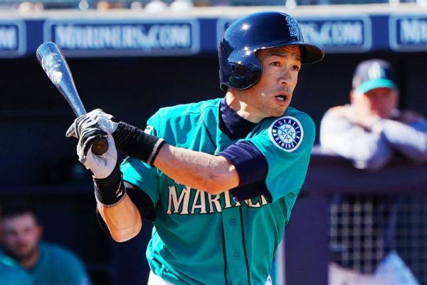 Ichiro Suzuki goes through protocol, cleared after getting hit in helmet