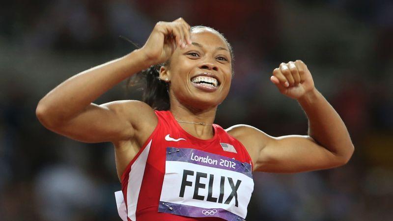Atletismo.  ALLYSON FELIX gana la batalla a Nike, contra la discriminación por ser madre