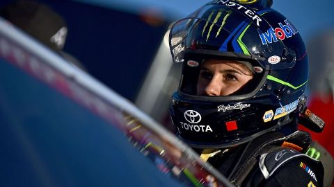 Hailie Deegan's second NASCAR K&N West win propels her into