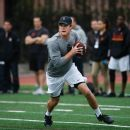 Rain or shine: Darnold delivers at wet pro day
