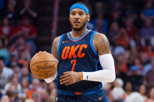 Carmelo Anthony writes letter to thank Thunder, fans