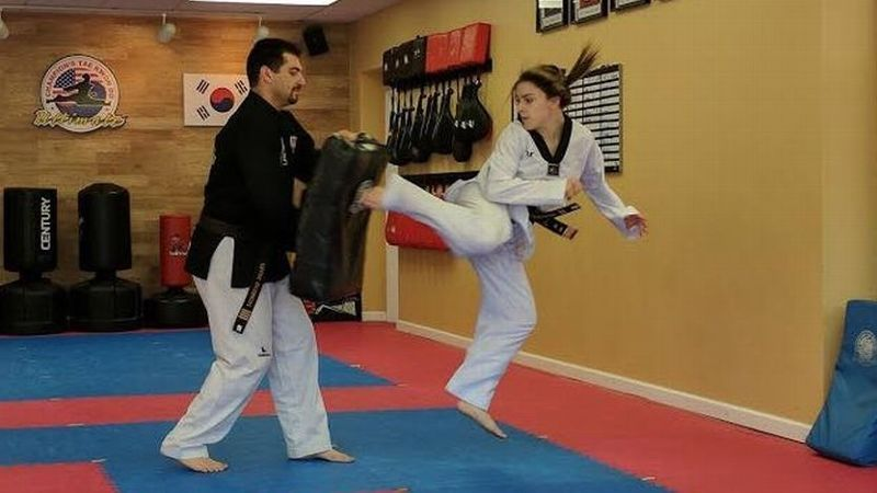 outlet store 564dd 0cccb Brianna Salinaro aims to be first American female Paralympian in taekwondo