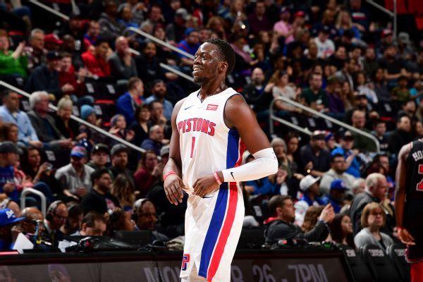 Pistons hope Reggie Jackson will be ready for opener