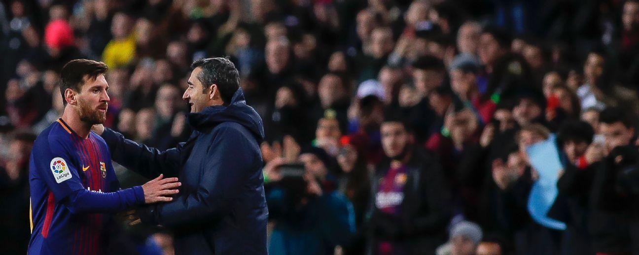 """""""Un premio que se llama The Best y el mejor no estaba"""": Valverde"""