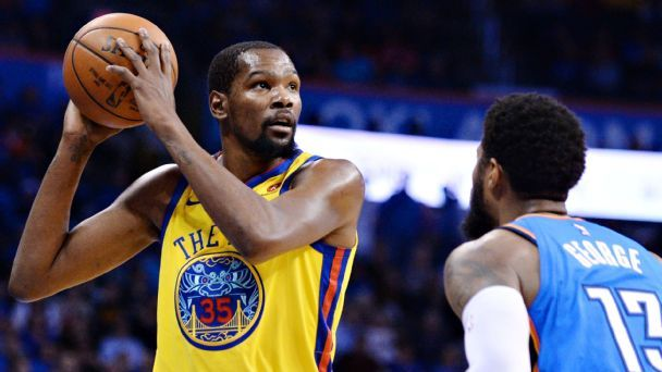 Will Durant stay or go? Like Thunder, Warriors are stuck in a waiting game