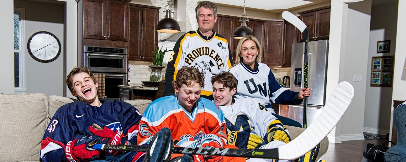 Meet the Hughes brothers, America's future first family of hockey
