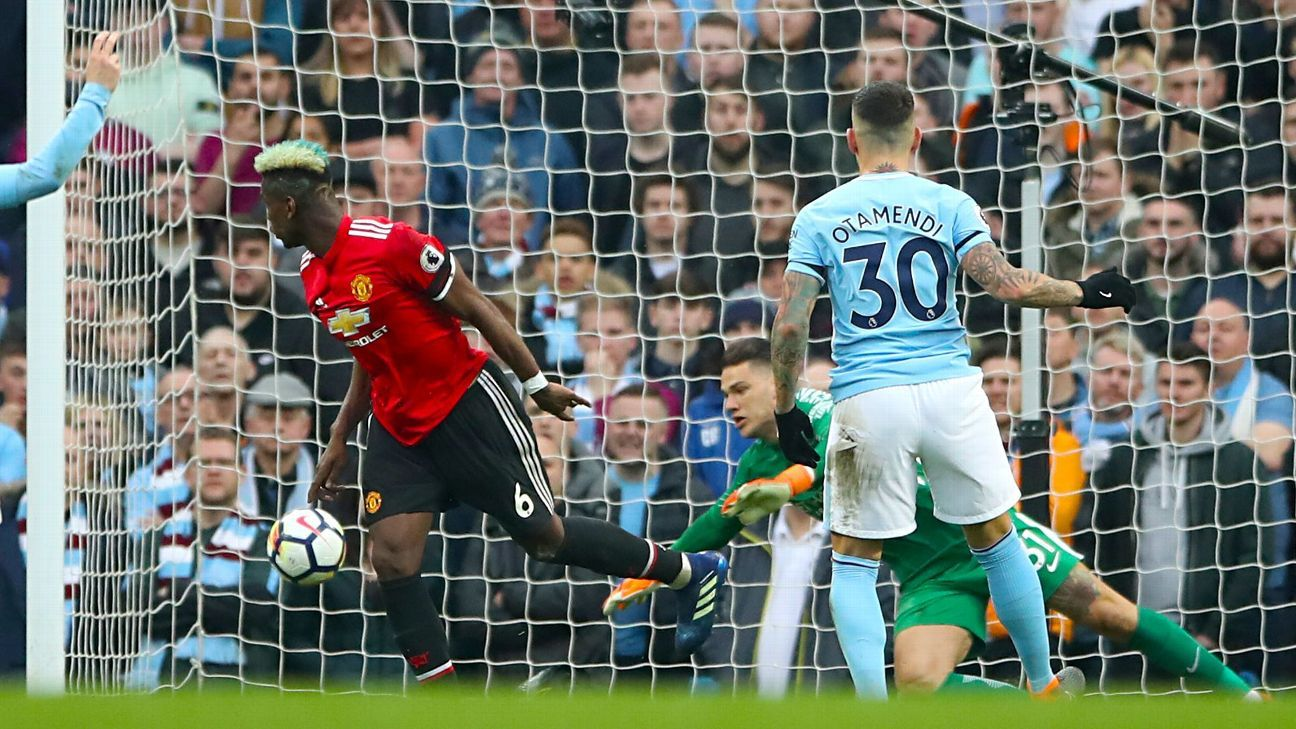 Image result for man city 2 3 man utd 7 april 2018