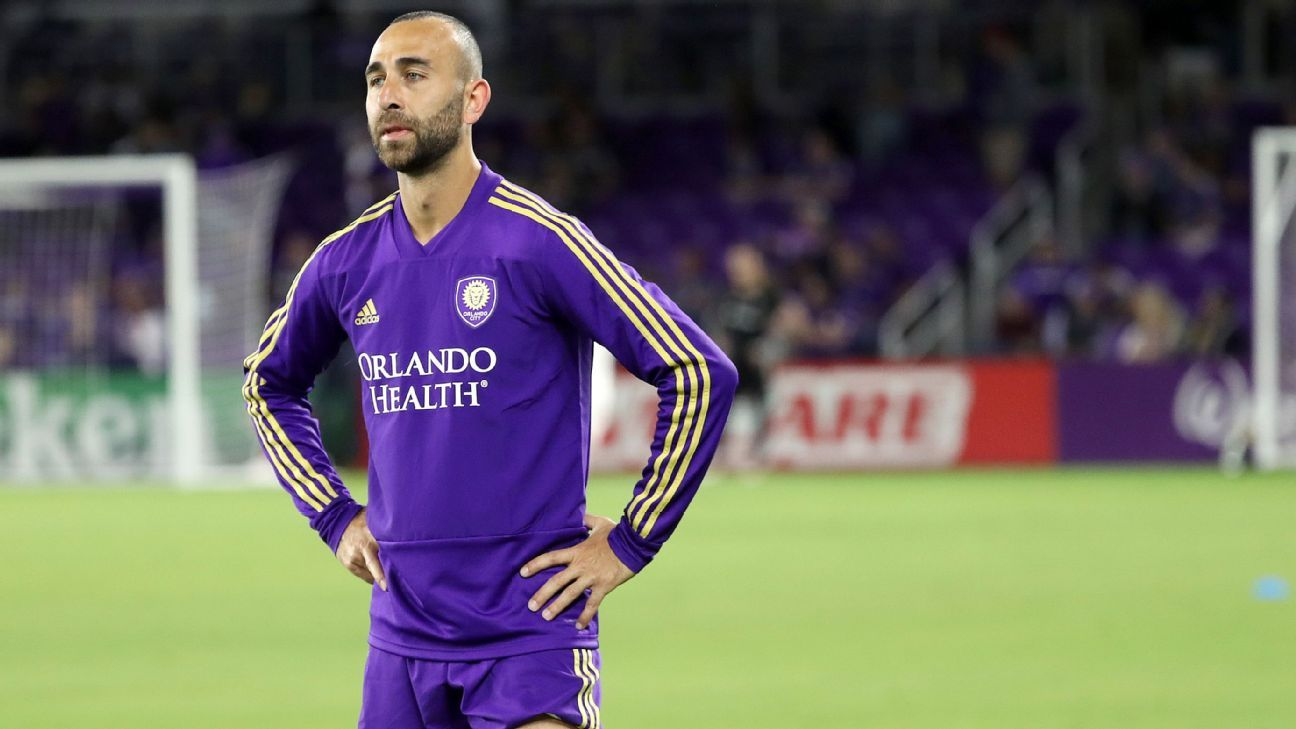 Orlando City in talks to deal Justin Meram back to Columbus Crew - sources
