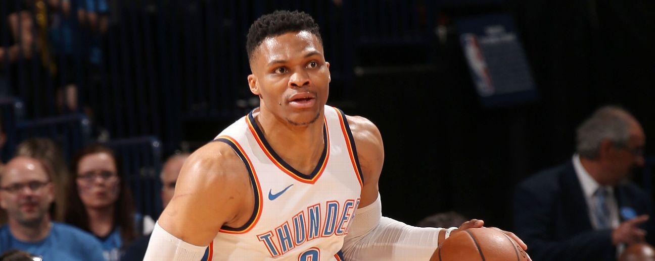 Russell Westbrook no podrá alinear con el Thunder en apertura de temporada