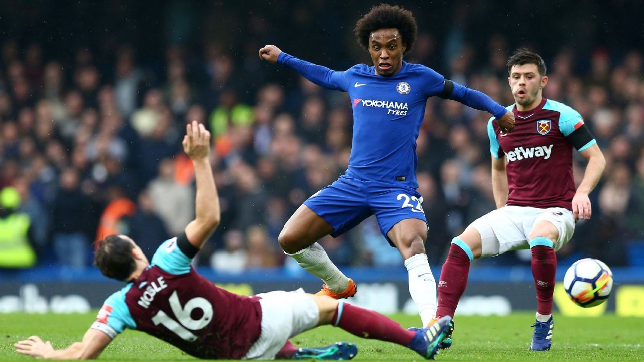 LIVE Transfer Talk: Barcelona coming in with £55m-plus bid for Chelsea's Willian
