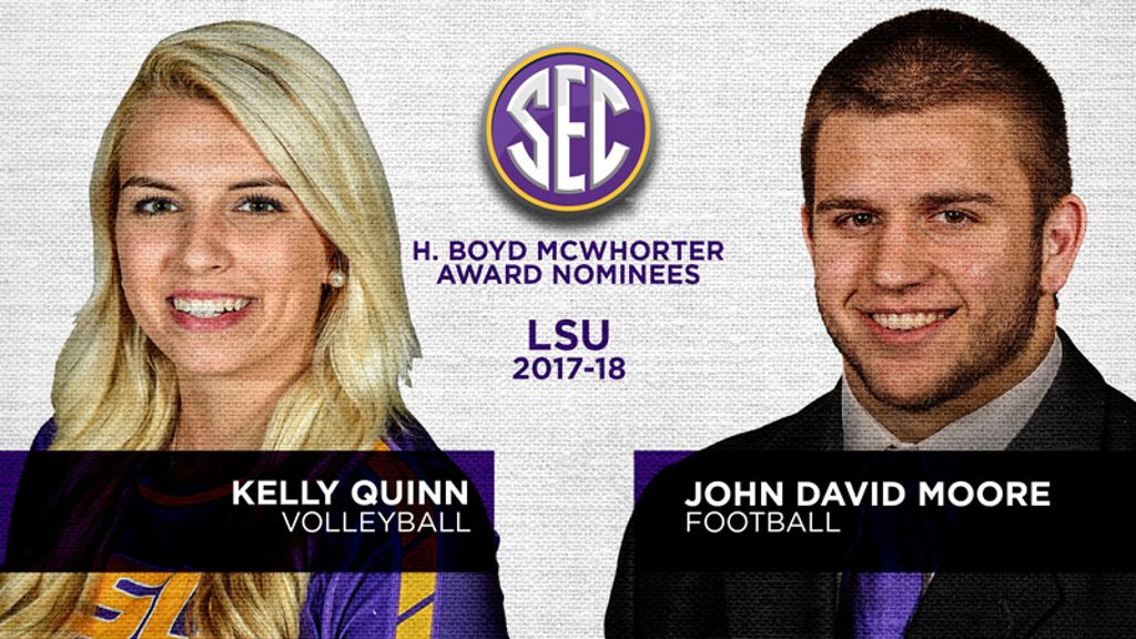 LSU nominees for McWhorter Award announced