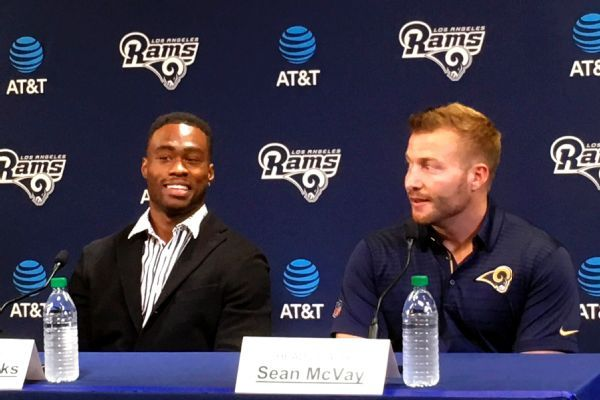 Rams sign Brandin Cooks to five-year extension