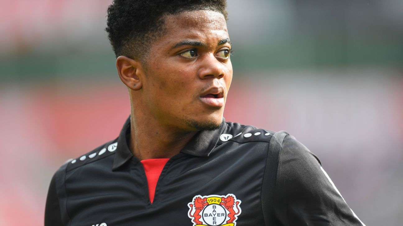 Bayer Leverkusen's Leon Bailey signs contract extension until 2023