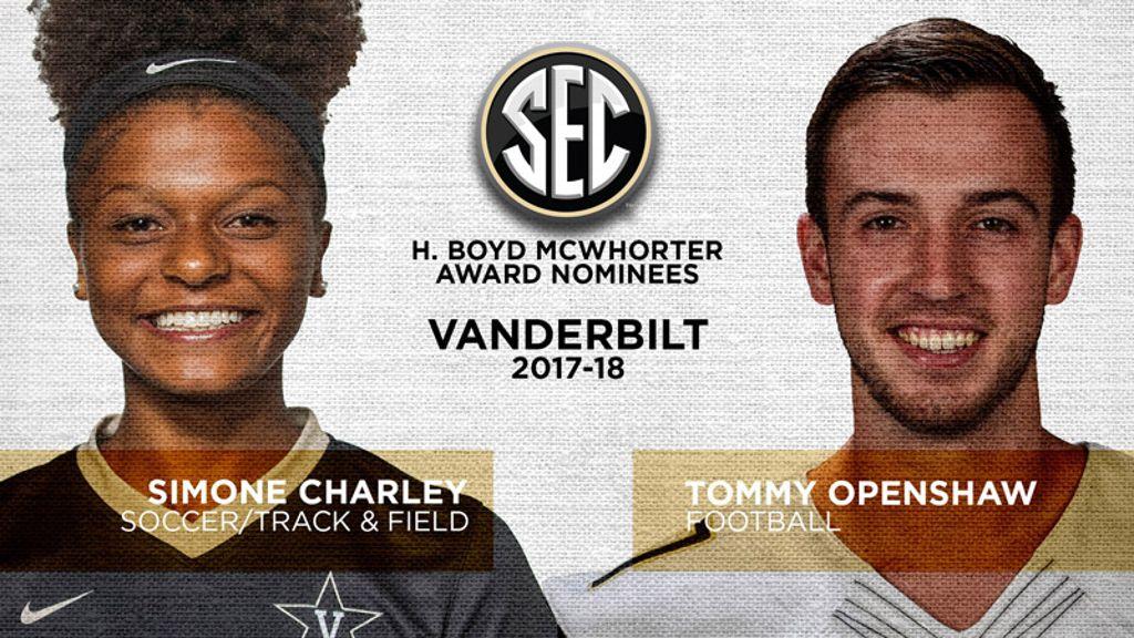 Vanderbilt nominees for McWhorter Award announced