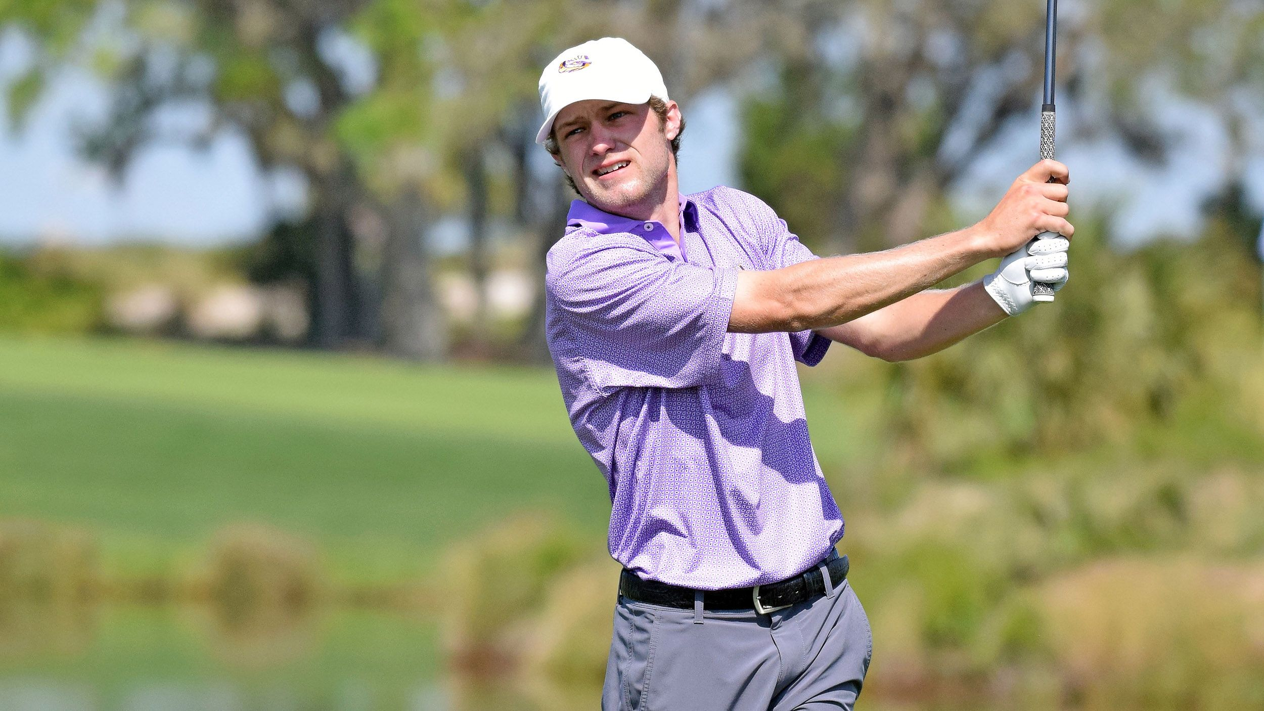 LSU takes tournament lead in Round 2