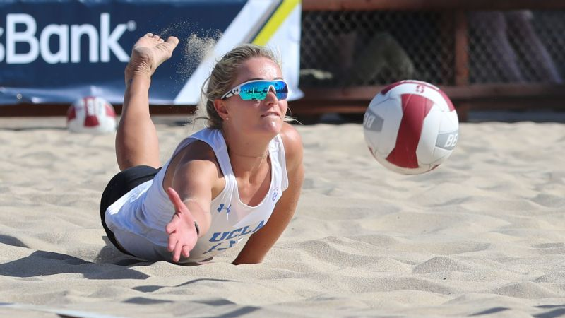 UCLA Bruins beach volleyball stars Megan McNamara and Nicole ... 450e333b26c4