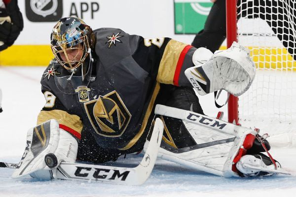 Marc-Andre Fleury, Golden Knights reach 3-year, $21M extension