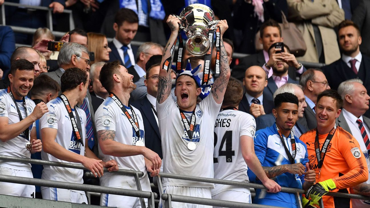 Tranmere Rovers back in Football League after dramatic playoff victory