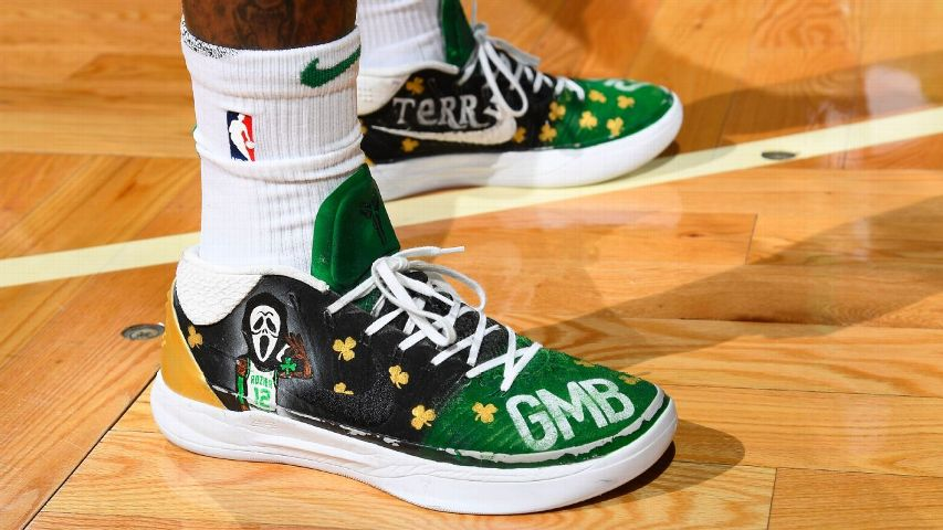 2c319cf66ef2 Terry Rozier has taken his Scary Terry nickname to another level with a  pair of spirited