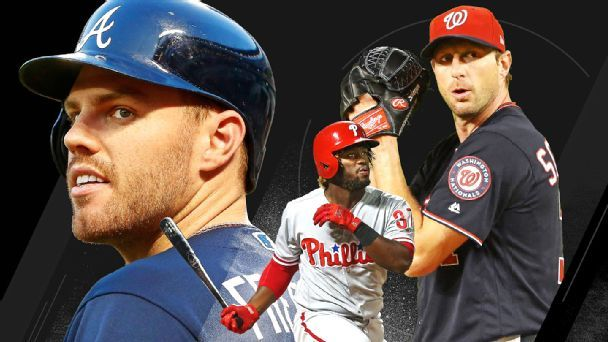 Power Rankings: NL East contenders make their move to the top