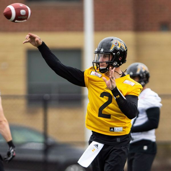 Johnny Manziel expected to be backup QB with CFL's Tiger-Cats