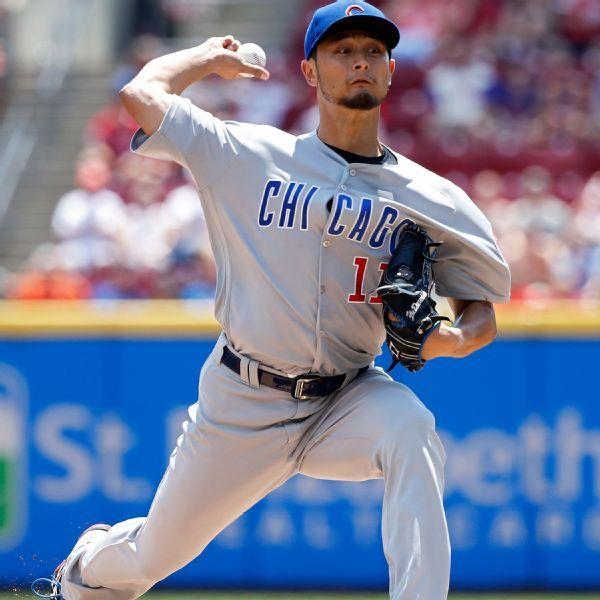 Yu Darvish overcomes frustrations to get first win with Cubs