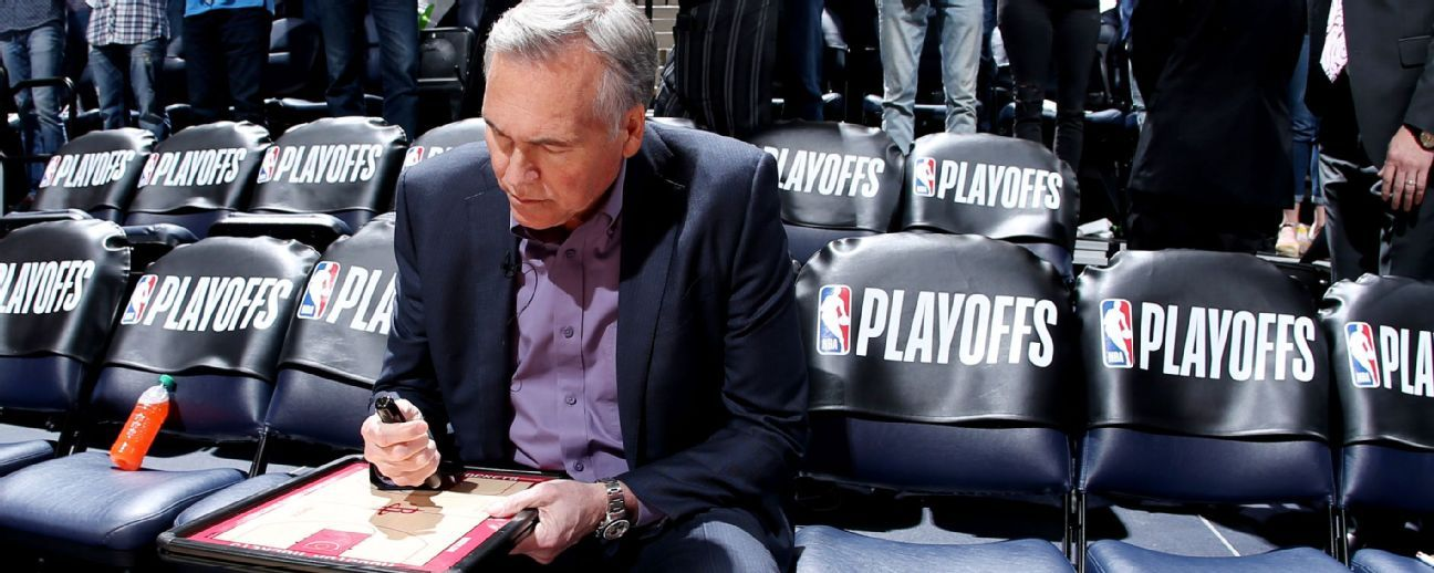 Mike D'Antoni's isolation adaptation: 'With James and Chris, why not?'