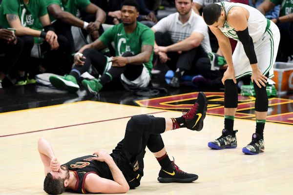 Kevin Love out for Game 7, placed in concussion protocol