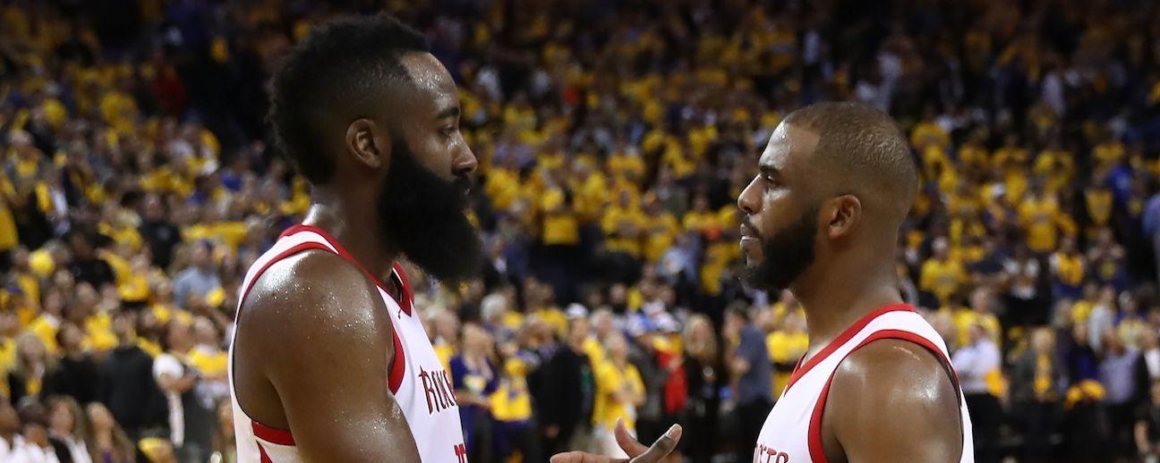 ¿James Harden y los Rockets vencerán a los Warriors sin Chris Paul?