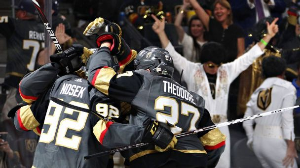 Fifteen days that defined the Golden Knights' season