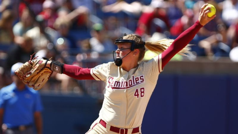 2018 Women's College World Series -- Washington Huskies and