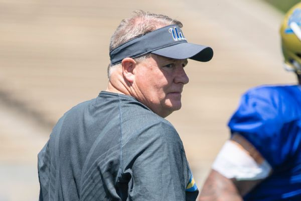 UCLA's Chip Kelly on criticism from QB's dad: 'We all have to play better'