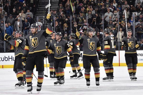 Golden Knights are again hottest ticket in NHL