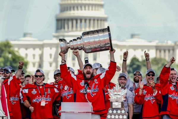 Hundreds of thousands celebrate Capitals' Cup victory