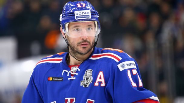Ilya Kovalchuk is coming back! So ... how good is he?