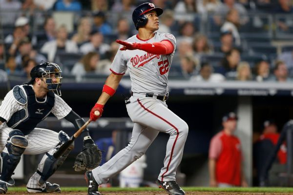Juan Soto's HR in Nationals' continued game to be recorded as pre-debut