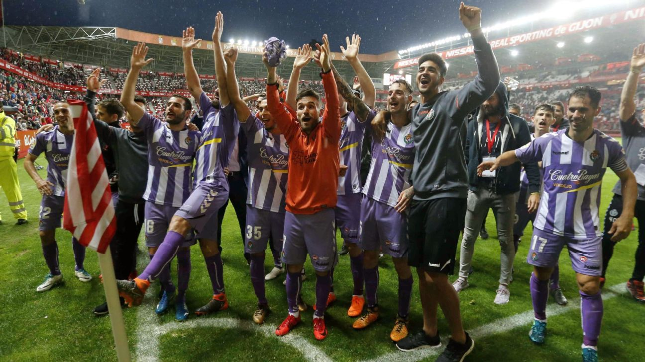 Real Valladolid secure promotion to La Liga top flight after playoff triumph