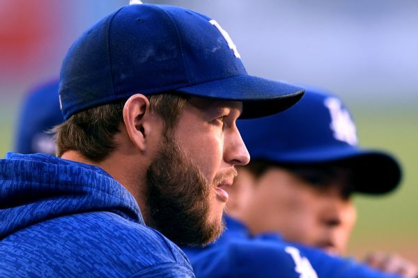 Dodgers 'encouraged' after Clayton Kershaw works simulated game